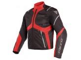 Waterproof Jacket Dainese Sauris D-Dry Black Red Grey