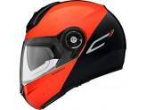 Helmet Flip-Up Schuberth C3 Pro Split Glossy Orange