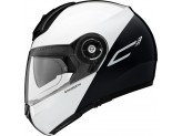 Helmet Flip-Up Schuberth C3 Pro Split Glossy White