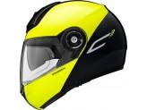 Helmet Flip-Up Schuberth C3 Pro Split Glossy Yellow