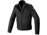 Jacket Moto Spidi H2OUT SOLAR NET WP Black Fluo-Yellow