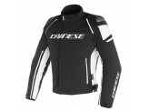 Jacket Dainese D-Dry Racing 3 Waterproof Black/Black/White
