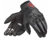 Motorcycle Short Unisex Gloves Dainese Mig C2 Black/Black/Black