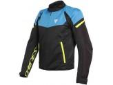 Jacket Dainese Bora Air Tex Black Blue Yellow Fluo