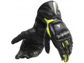 Motorcycle Gloves Man Dainese Steel-Pro Black Fluo-Yellow