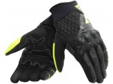 Motorcycle Gloves Dainese X-Moto Unisex Black Fluo-Yellow
