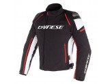 Jacket Dainese D-Dry Racing 3 Waterproof Black/White/Fluo-Red