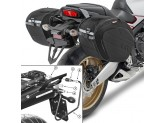 Saddle Bags Givi EA100B + Specific holder for Yamaha MT-03 600 (06 > 14)