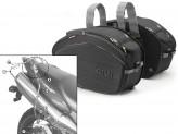 Saddle Bags Givi EA100B + Specific holder for Honda Hornet 600