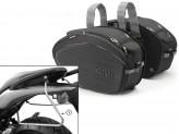 Saddle Bags Givi EA100B + Specific holder for Honda Hornet 600 (07>10)