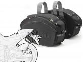 Saddle Bags Givi EA100B + Specific holder for Yamaha MT-07 (14 > 16)