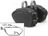 Saddle Bags Givi EA100B + Specific holder for BMW F 800 GT (13 > 16)