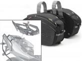 Saddle Bags Givi EA100B + Specific holder for Aprilia Shiver 750 / ABS (10 > 16)