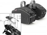 Saddle Bags Givi EA101B + Specific holder for Honda XL 650V Transalp