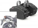 Saddle Bags Givi EA101B + Specific holder for Yamaha FZ1 1000 (06>15)