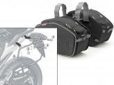 Saddle Bags Givi EA101B + Specific holder for Honda NC700S (12 > 13)