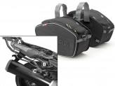 Saddle Bags Givi EA101B + Specific holder for Kawasaki ZZR 1400 (12 > 16)