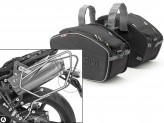 Saddle Bags Givi EA101B + Specific holder for Truimph Street Triple 675 (07>12)