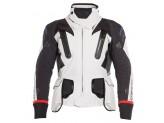 Motorcycle Jacket Man Dainese Gore-Tex Antartica Light Grey Black