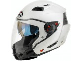 Helmet Flip-Up Full-Face Airoh Executive Color White Gloss
