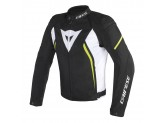 Jacket Dainese Tex Avro D2 Black/Black/Yellow-Fluo