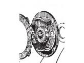 12M29 - Replacement Clutch Surflex Graft PUCH 65