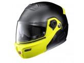 Helmet Flip-Up Full-Face Grex G9.1 Evolve Couplè 31 Matt Black Yellow