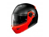 Helmet Flip-Up Full-Face Grex G9.1 Evolve Couplè 32 Matt Black Red