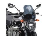 140D - Givi screen smoked 35x36cm  Yamaha FZ6/FZ6 600 Fazer (04 > 06)