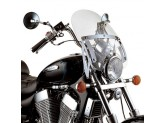 A23 - Givi Screen transparent 38,8 x 41 cm Honda Black Widow 750 / VT 750S