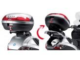 """SR134 - Givi """"Folding"""" Rear Rack MONOKEY Piaggio Mp3"""