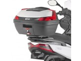 SR6108 - Givi rear black rack for MONOLOCK/MONOKEY top case Kymco XTown 125-300