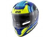 Helmet Full-Face Givi 50.6 Stoccarda Blue Yellow