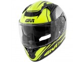 Helmet Full-Face Givi 50.6 Stoccarda Glade Glossy Black Yellow