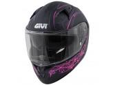 Helmet Full-Face Givi 50.6 Stoccarda Mendhi Black Pink