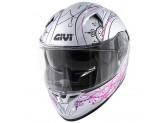Helmet Full-Face Givi 50.6 Stoccarda Mendhi Silver Pink