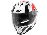 Helmet Full-Face Givi 50.6 Stoccarda Perseus Red Black