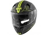 Helmet Full-Face Givi 50.6 Stoccarda Splinter Matt Black Yellow