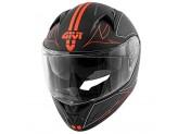 Helmet Full-Face Givi 50.6 Stoccarda Splinter Matt Black Red