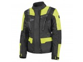 Jacket Hevik 2 Layers Stelvio Lady Black Fluo-Yellow
