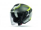 Helmet Jet Airoh Hunter Soul Matt Anthracite