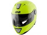 Helmet Modular Openable Givi X.23 Sydney Solid Color Neon Yellow