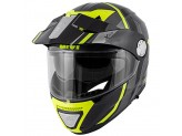 Helmet Modular Openable Givi X.33 Canyon Division Titanium Yellow