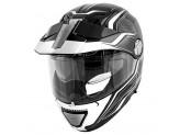 Helmet Modular Openable Givi X.33 Canyon Layers Black White