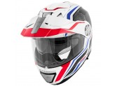 Helmet Modular Openable Givi X.33 Canyon Layers White Red Blue