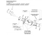 8074 - Kit Exhaust manifold LeoVince elimina kat stainless steel