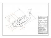 0206 - Muffler Leovince Sito 2-STROKE VESPA RALLY 180