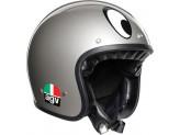 Helmet Jet Agv Legends X70 Montjuic Silver