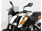 Screen MRA S - Spoiler - black KTM Duke 125/200/390