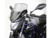 Screen MRA NSN - Spoiler Naked Bikes - black YAMAHA MT-03 (16-18)